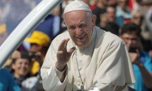 Gest impresionant al Papei Francisc față de o româncă