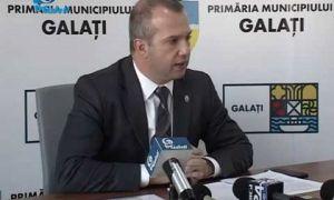 Primarul PSD al Galațiului a fost diagnosticat cu COVID-19