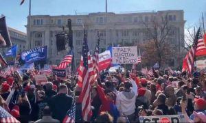 #MillionMAGAMarch, marș PRO Trump la Washington. Un milion de oameni sunt în stradă
