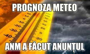 PROGNOZA METEO ANM: Cum va fi vremea în următoarea lună