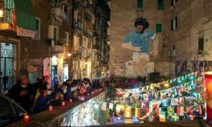 DOLIU național în Argentina după moartea lui Maradona. Fanii italieni au ieșit pe străzi