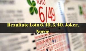 LOTO DE ANUL NOU: Numerele câștigătoare la Loto 6/49, Loto 5/40, Noroc, Super Noroc, Joker