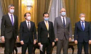ULTIMA ORĂ: Liderii Coaliției au semnat noul Acord pentru guvernare