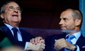 """Ceferin, atac dur la Florentino Perez: """"Acum este preşedintele unui nimic. Își dorea un preşedinte al UEFA care să facă doar ceea ce îi spunea el"""""""