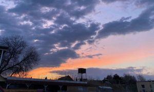 IMAGINILE ZILEI: Spectacol pe cer în Vama Veche înaintea concertului trupei Vama