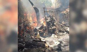 TRAGEDIE aviatică în Zimbabwe. Un elicopter militar s-a prăbușit peste o casă