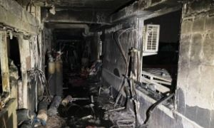 INCENDIU într-un spital COVID-19 din Bagdad, bilanț provizoriu: 82 morți, 110 răniți