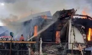 ULTIMA ORĂ: Incendiu devastator la o biserică din județul Vrancea