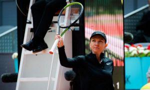 Simona Halep părăsește dramatic turneul de la Madrid