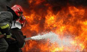 Incendiu la un hypermarket din București. Pompierii au intervenit cu cinci autospeciale