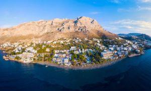 Insulă din Grecia plasată în CARANTINĂ