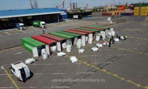 Zece containere cu DEȘEURI, descoperite în Portul Constanța. De unde proveneau