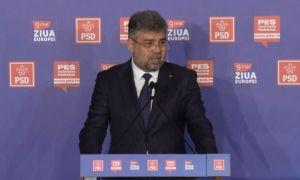 """Marcel Ciolacu, semnal de alarmă de Ziua Europei: """"Interesele partizane şi ORGOLIILE politice trebuie să înceteze"""""""