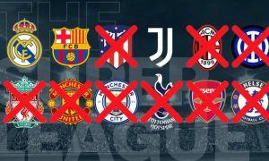 Juventus, Real Madrid şi Barcelona, anchetate de UEFA. Cele trei echipe nu s-au retras oficial din Superliga europeană