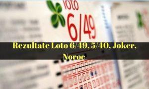 LOTO 20 MAI 2021: Numerele extrase la Loto 6/49, Noroc, Joker, Noroc Plus, Super Noroc, Loto 5/40