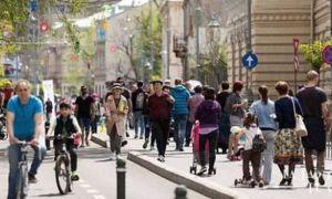 Șapte zone din centrul Capitalei care vor deveni pietonale în week-end-uri