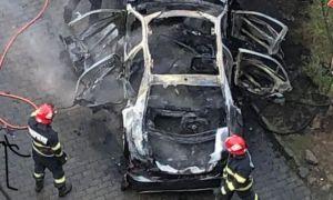 Criminali plătiți, în cazul mașinii DETONATE de la Arad. Scenariile anchetatorilor