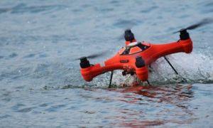 Dronă de mari dimensiuni descoperită plutind în apele Mării Negre