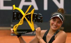 La 23 de ani, Gabriela Ruse a CÂȘTIGAT turneul de la Hamburg, primul trofeu WTA din carieră