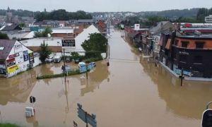 CREȘTE bilanțul victimelor inundațiilor din Belgia. Situația dezastrului din Europa