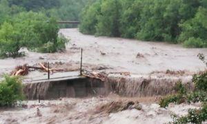 Inundații în Alba: Peste 200 de persoane au fost evacuate