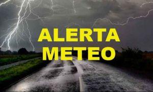 ANM, Alertă Meteo: Cod Galben de averse și vijelii