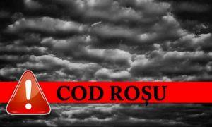 ALERTĂ! Cod Roșu de vreme severă. Vijeliile lovesc puternic România. Care vor fi cele mai afectate zone