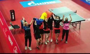 Echipa feminină de tenis de masă a României, CAMPIOANĂ EUROPEANĂ U-19