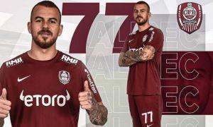 CFR Cluj a oficializat împrumutul lui Denis Alibec