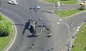 S-a aflat motivul pentru care elicopterul american a aterizat de urgență în Capitală