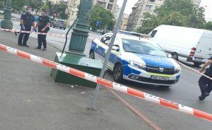 Bărbat găsit MORT într-o cutie de metal, în Bucureşti