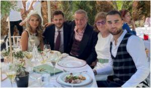 IMAGINI de la nunta fiicei lui Anghel Iordănescu, nășită de Gigi Becali