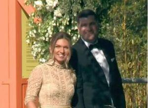 Primele IMAGINI cu Simona Halep în ziua nunții sale! Cum s-a îmbrăcat tenismena la cununia civilă cu Toni Iuruc