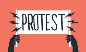 Protest în ziua congresului PNL: Se cere demisia lui Cîțu și refacerea coaliției de guvernare