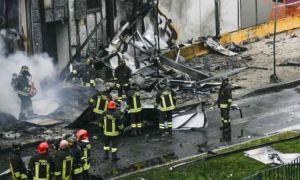 Un avion românesc s-a PRĂBUȘIT lângă Milano. Opt oameni au murit
