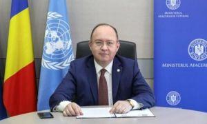 Ministrul de Externe Bogdan Aurescu, mesaj la reuniunea Consiliului de Securitate al ONU, inițiată de Vietnam