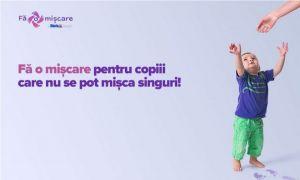 Aproximativ 25% din copiii născuți în România au nevoie de terapie motorie în primul an de viață