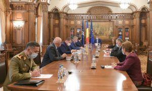 ȘEDINȚĂ la Palatul Cotroceni pentru măsuri de urgență în plină pandemie