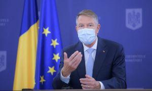 Klaus Iohannis anunță RESTRICȚII. Ce se întâmplă cu școlile, circulația și magazinele