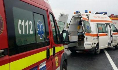 TRAFIC îngreunat pe DN1 după un accident în lanț