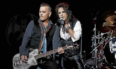 Alice Cooper și Johnny Depp, concert EXPLOZIV la Romexpo