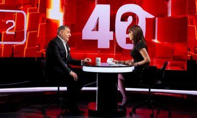 """VALI VIJELIE, următorul invitat la emisiunea """"40 de întrebări cu Denise Rifai"""""""