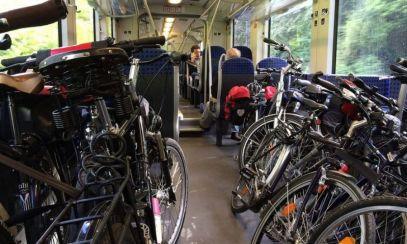Precizările CFR Călători despre transportul bicicletelor cu trenul