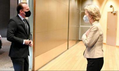 Ce a discutat premierul Cîțu cu președinta Comisiei Europene