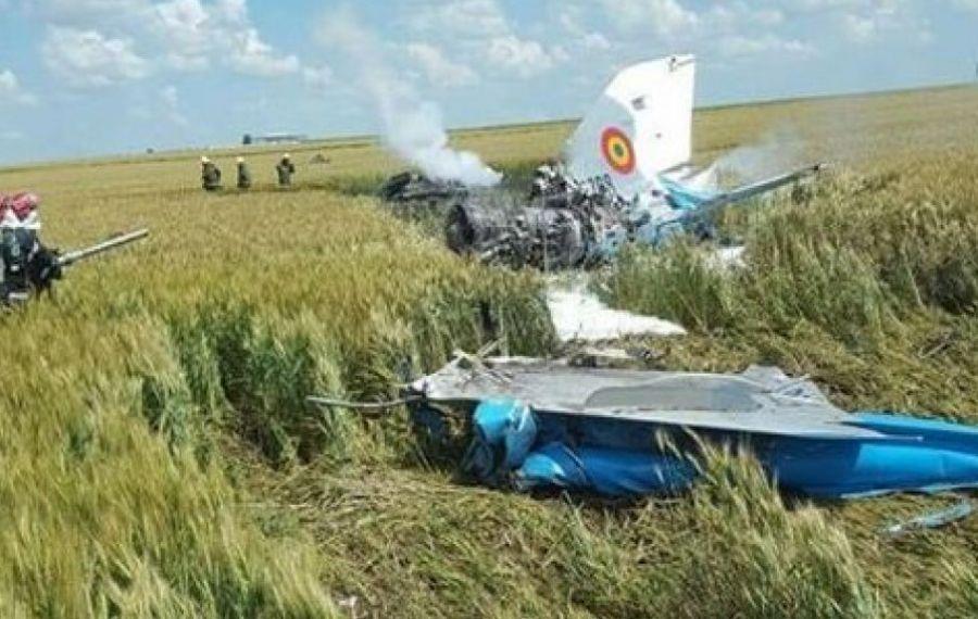 UPDATE: Un MIG 21 Lancer s-a prăbușit în județul Mureș. Pilotul a reușit să se catapulteze. Mărturia primarului